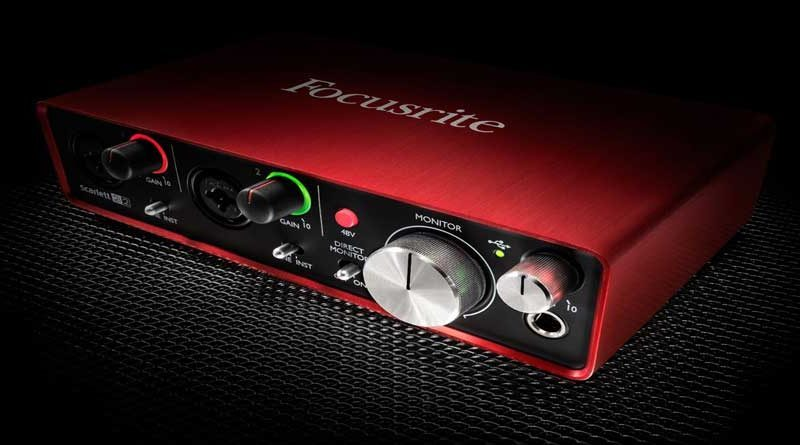 focusrite scarlett 2i2