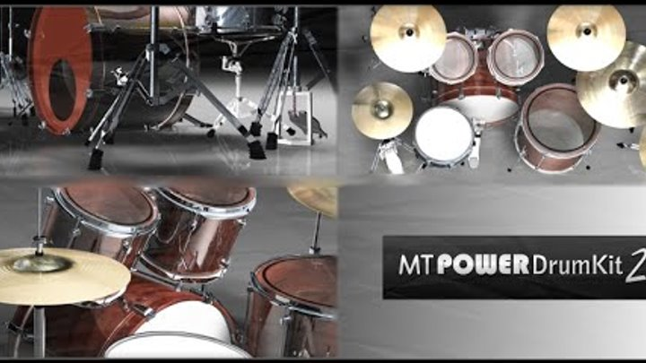 MT Power Drum Kit 2